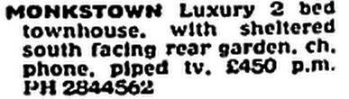 Monkstown - 24 August 1991