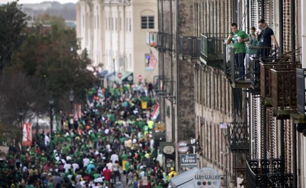 St. Patrick's Day Savannah