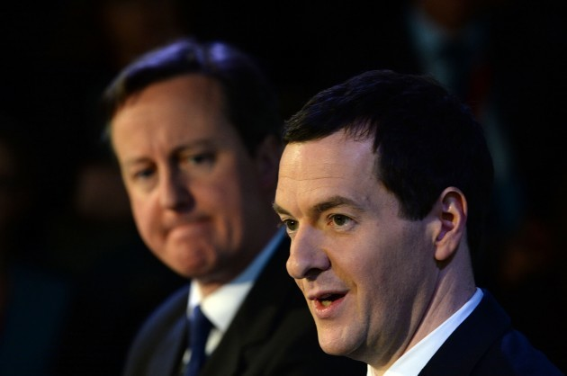 Cameron and Osborne visit to Leeds