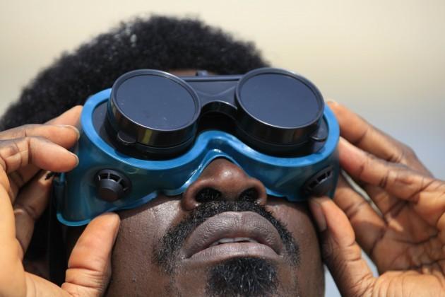 Nigeria Partial Eclipse
