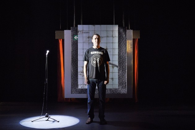 Brian Doherty (Comedian) in Death of a Comedian by Owen McCafferty Pic Ros Kavanagh