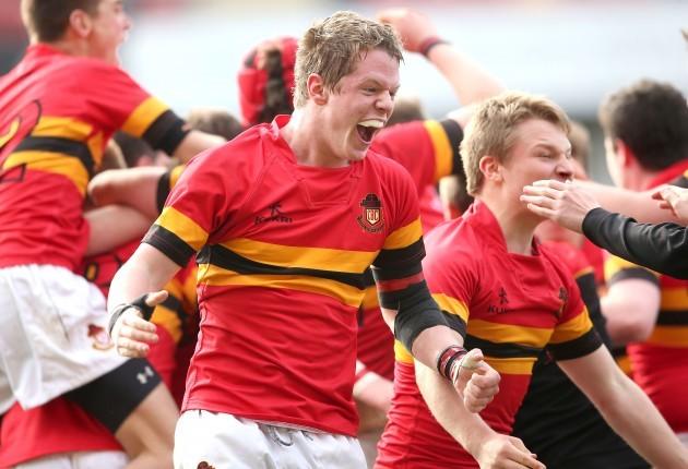 Eamonn Doyle celebrates after the game
