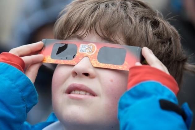 TCD partial solar eclipse-2