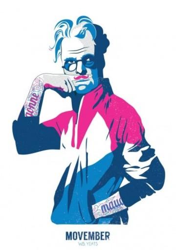 gary-reddin-print-dublin-hipster-wb-yeats