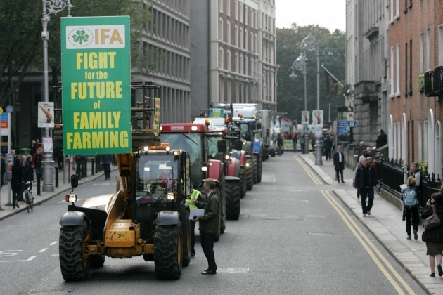 Irish Farmers Protests