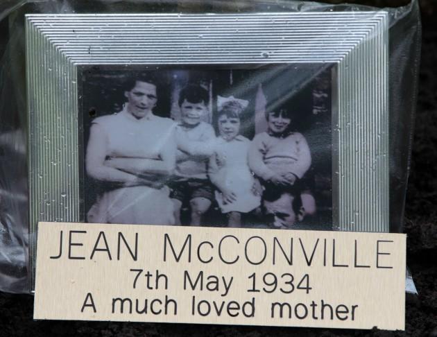 Jean McConville tree tribute