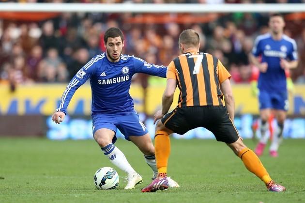 Soccer - Barclays Premier League - Hull City v Chelsea - KC Stadium