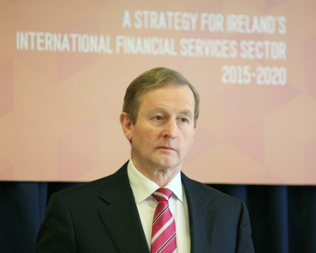 IFS 2020. Pictured An Taoiseach Enda Kenn