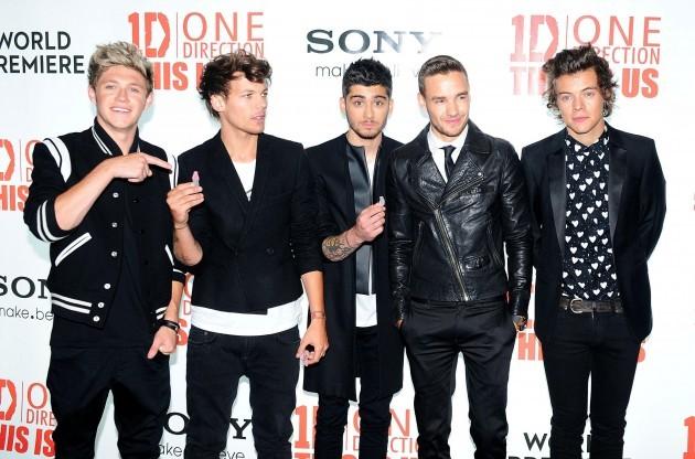 One Direction split odds