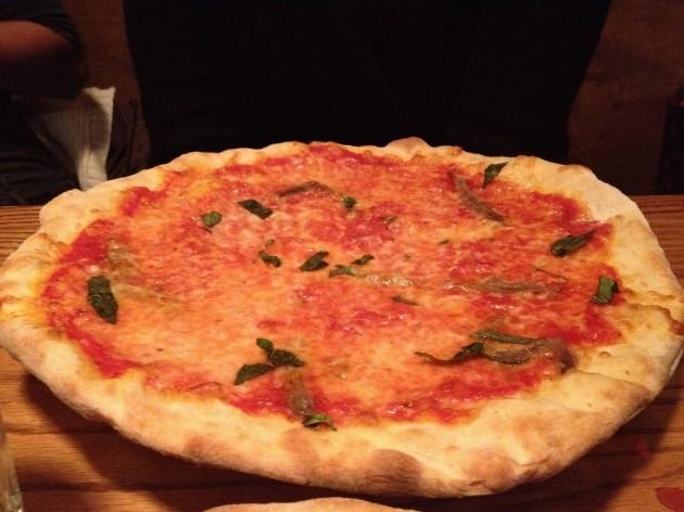 Anchovie pizza