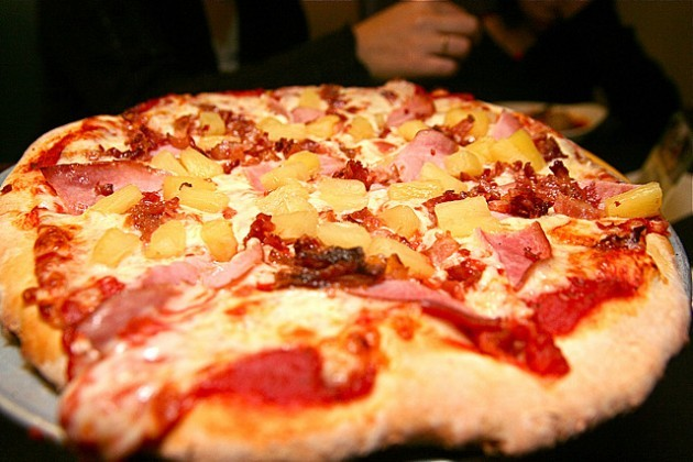 Ham and Pineapple Pizza IMG_7621.JPG