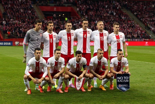 Soccer - UEFA Euro 2016 - Qualifying - Group D - Poland v Scotland - National Stadium Warsaw