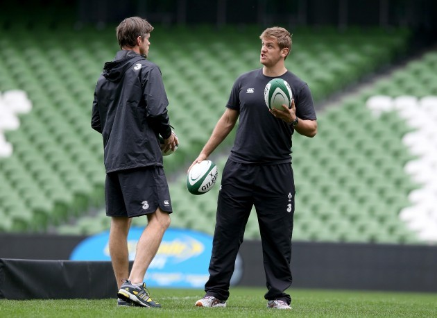 Simon Easterby and Chris Henry