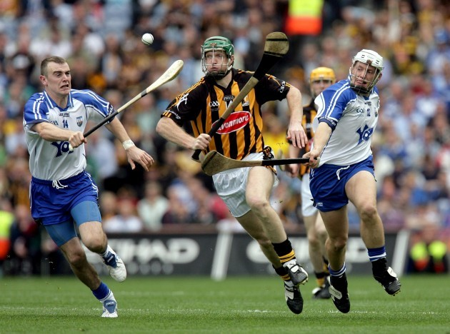 Henry Shefflin with Eoin Kelly and Stephen Molumphy