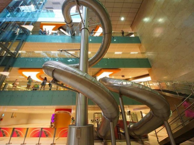kids-will-love-the-awesome-four-story-40-ft-slide-if-you-spend-10-at-any-airport-venue-youre-eligible-to-ride-the-slide