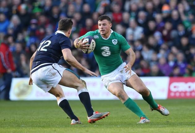 Ireland's Robbie Henshaw