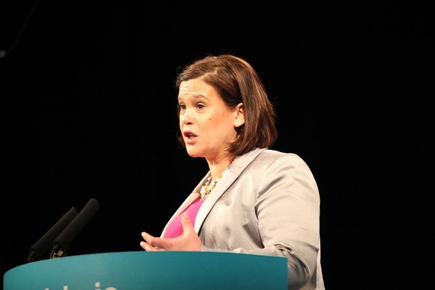 : Mary Lou McDonald TD addresses delegat