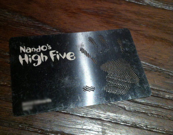 nandosblackcard