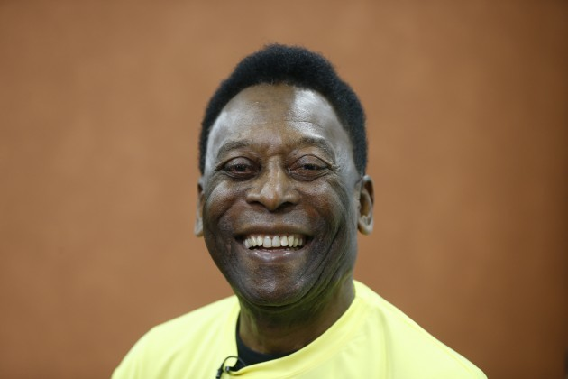 Britain Soccer Pele London