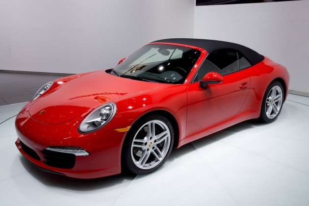 2012_NAIAS_Red_Porsche_991_convertible_(world_premiere)
