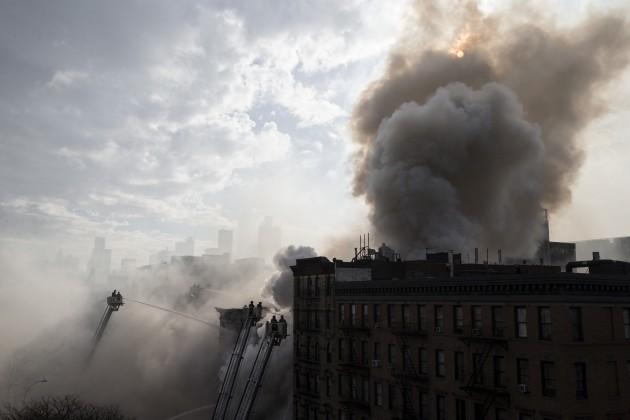 Building Collapse Manhattan