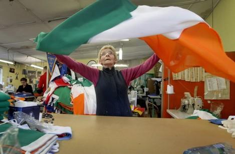 Making Irish Flags
