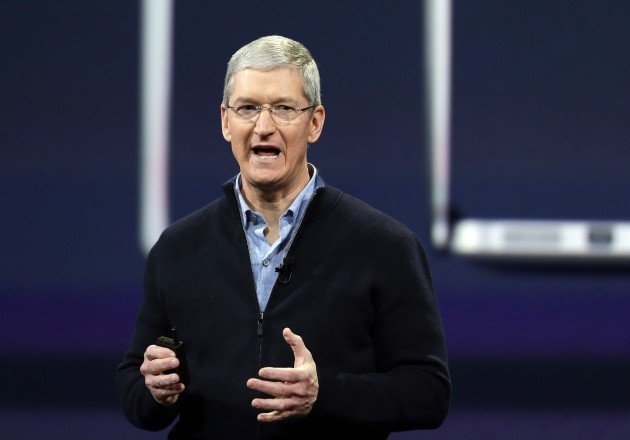 Apple CEO-Philanthropy