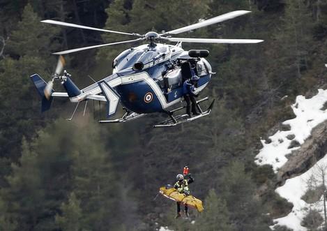 France Plane Crash Recovery