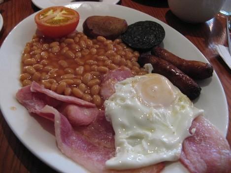 Full Irish Breakfast sans fried toast