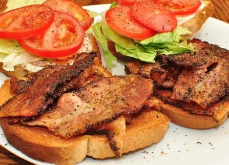 Mmm... pepper bacon
