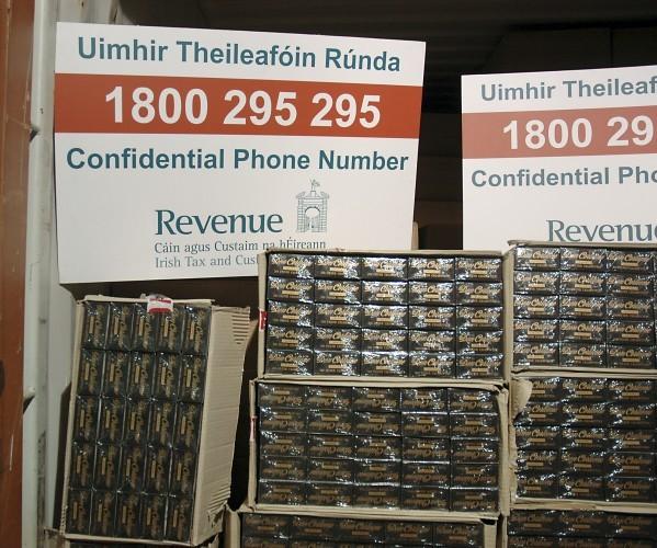 10.3m cigarettes in Dublin Port 1