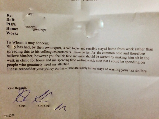 doctor writes best sick note ever for ill pizza hut worker