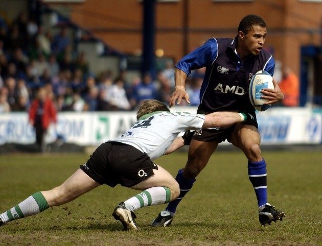 Jason Robinson is tackled 24/4/2005