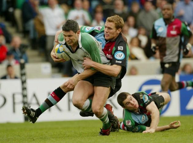 Darren Yapp with Gavin Duffy