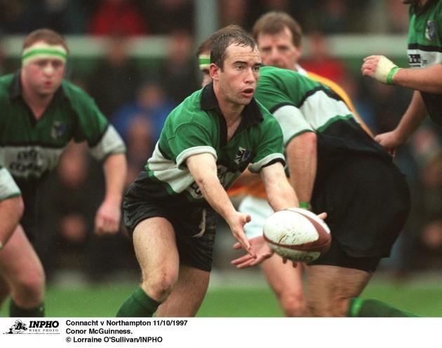 Conor McGuinness Connacht v Northampton 11/10/1997