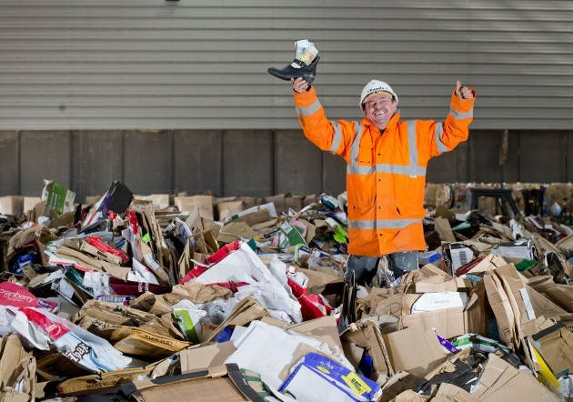 Panda worker finds €1,500 in recycling skip 303