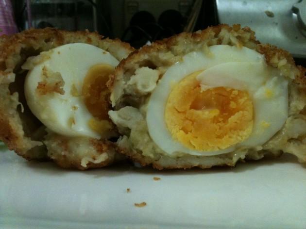 Prawn Scotch Eggs