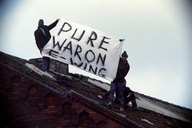 Crime - Strangeways Prison Riot - Manchester