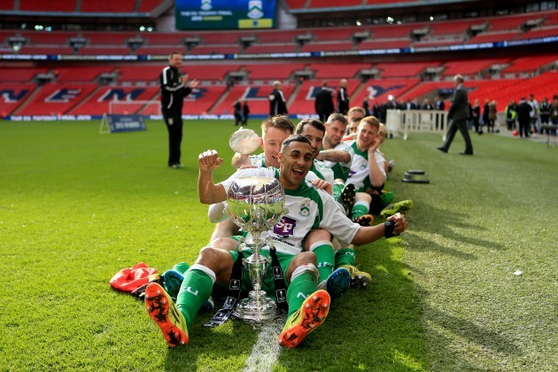 Soccer - The FA Trophy - Final - North Ferriby United v Wrexham - Wembley Stadium