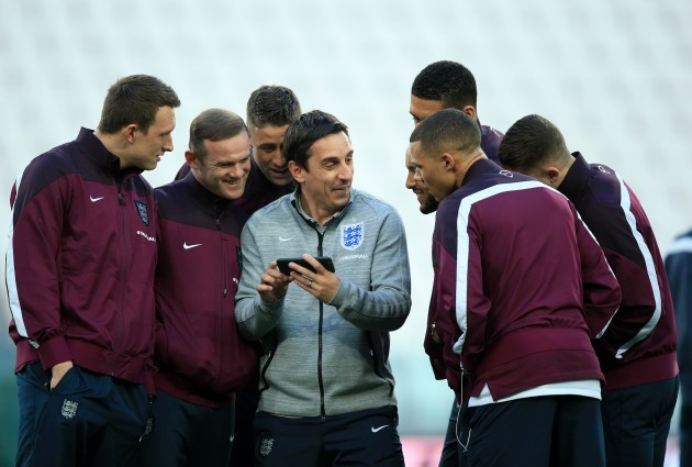 Soccer - International Friendly - Italy v England - England Press Conference - Juventus Stadium