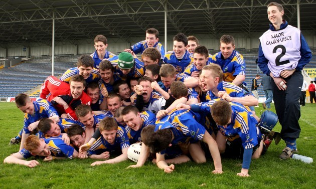 The Thurles CBS team celebrate