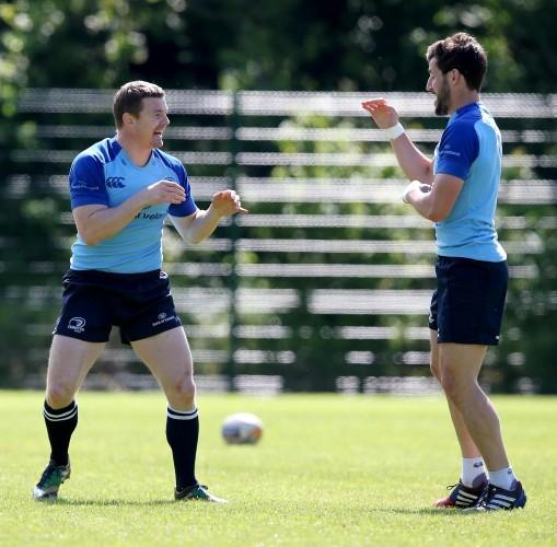 Brian O'Driscoll and Sam Windsor