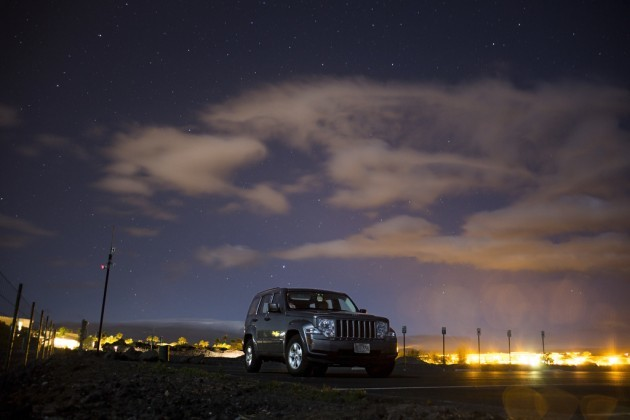 Jeep at Night