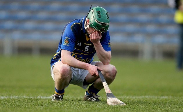 Christopher McCullagh dejected