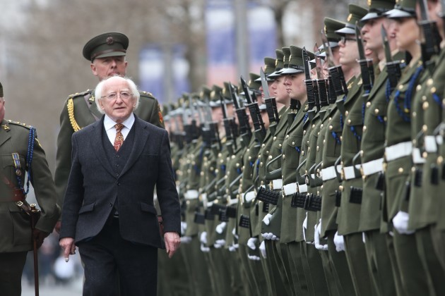 Easter 1916 Commemoration Ceremony at
