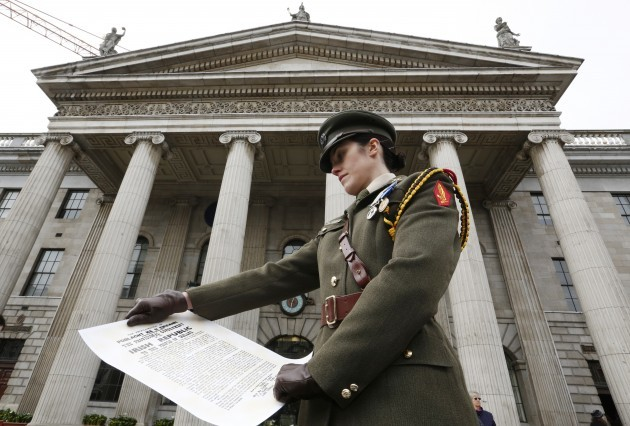 Easter Rising Commemoration. Captain K