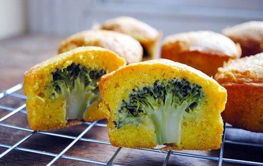 Look! Savoury Broccoli Cupcakes
