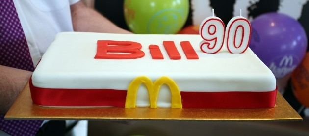 Party for McDonald's employee, 90