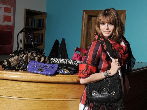 Mischa Barton handbag range