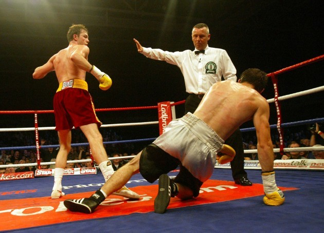 Andy Lee wins the fight